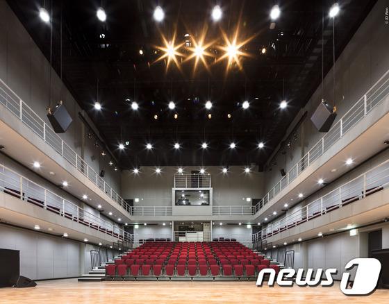 News1 홍릉 콘텐츠 시연장 내부 모습